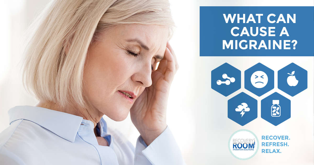 What can cause a migraine?