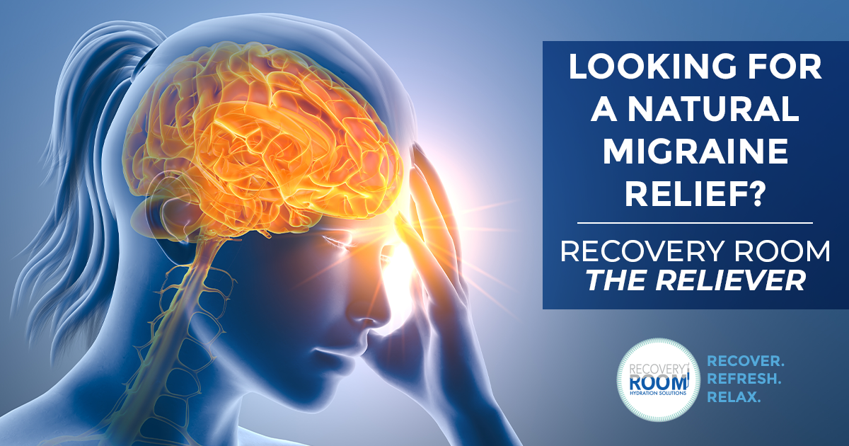 Looking for a natural migraine relief?